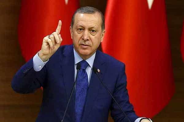 اردوغان: شروط «بولتون» را نمیپذیرم