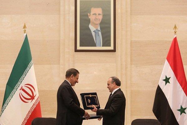 امضا ۱۱ سند همکاری میان ایران و سوریه