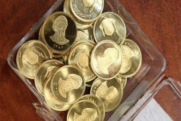 قیمت سکه طرح جدید امروز شنبه ۶بهمن، ۴ میلیون و ۱۵۸ هزار تومان شد