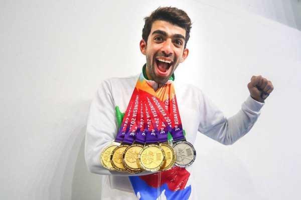میزان پاداش شاهین ایزدیار برای ۷ مدال آسیایی مشخص شد