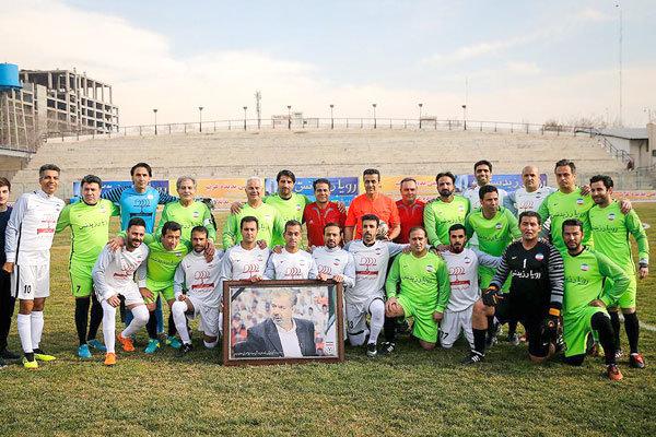پیروزی منتخب سرخابی برابر تیم فوتبال رسانه ورزش
