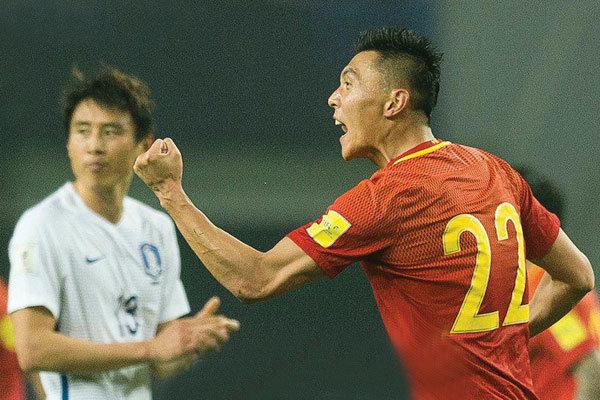 پیروزی تیم ملی فوتبال چین به لطف اشتباه دروازهبان قرقیزستان