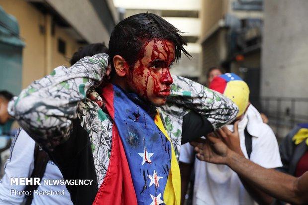 افزایش احتمال توسل آمریکا به گزینه نظامی در ونزوئلا