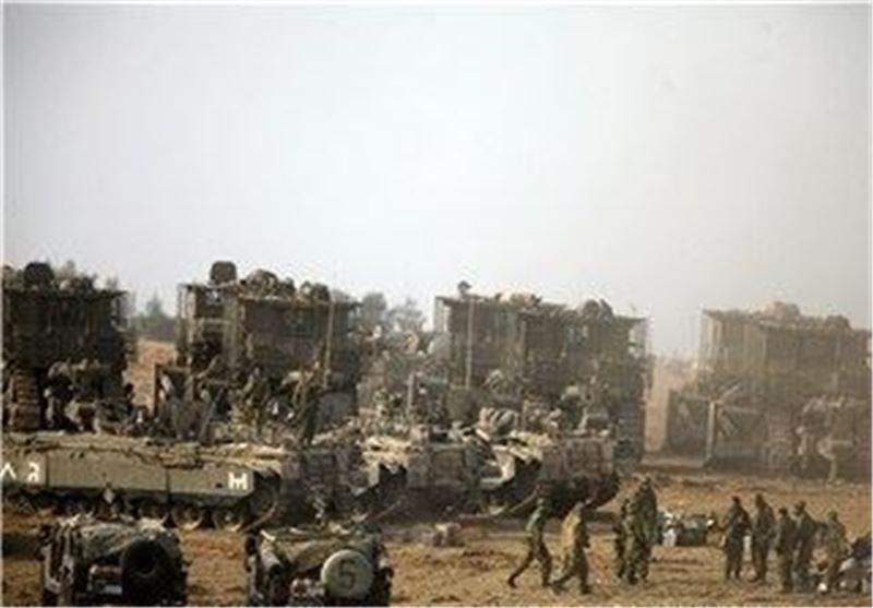 پرواز یک پهپاد بر فراز پایگاه نظامی سری اسرائیل