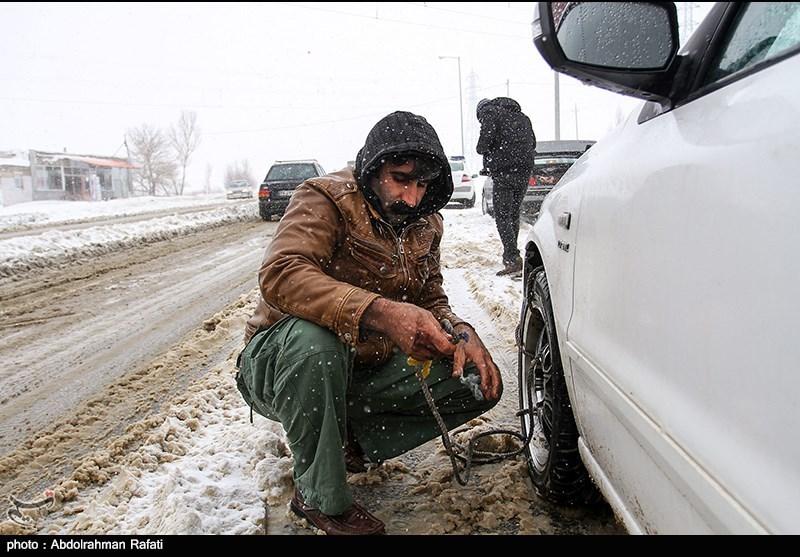 برف و کولاک در ۱۲ استان کشور/ امدادرسانی به ۳ هزار مسافر