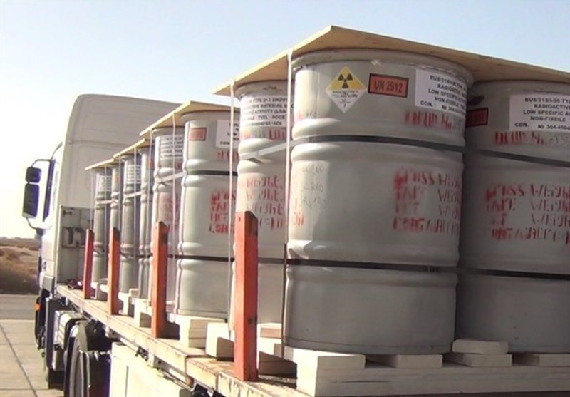 محموله ۳۰تنی کیک زرد به تأسیسات هستهای اصفهان منتقل شد