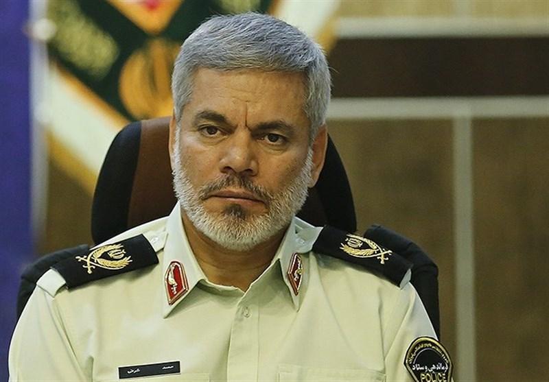سردار شرفی: ۴۰ هزار البسه پلیس به دوربین مجهز میشود