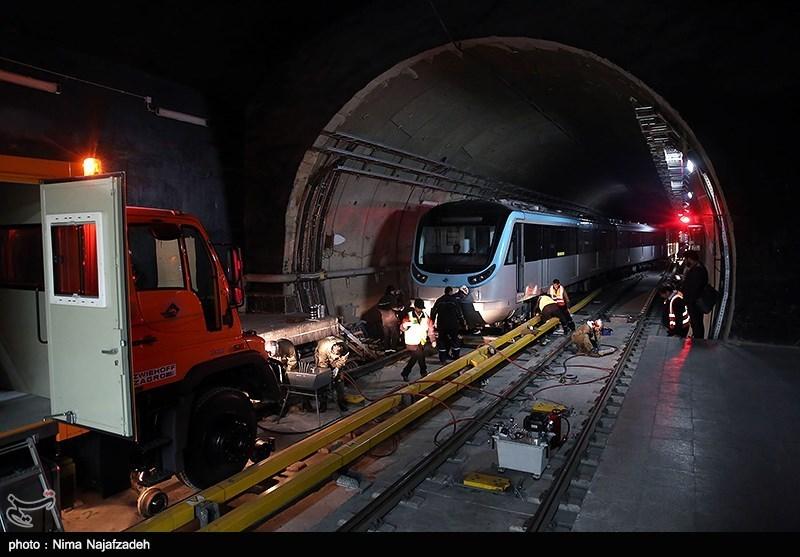 قطار شهری مشهد دچار نقص فنی شد