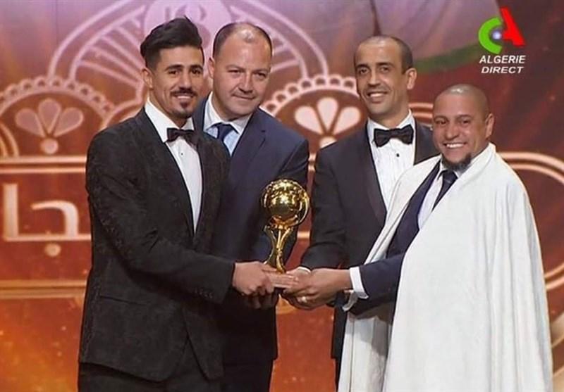 بونجاح بهترین بازیکن فوتبال الجزایر در سال ۲۰۱۸ شد