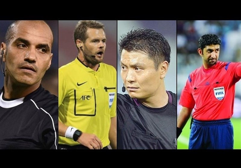 داوران دیدارهای پایانی گروههای E و F جام ملتها مشخص شدند