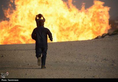 حریق در لولههای گاز مسیر آزادراه اهواز به ماهشهر/۵ نفر کشته شدند