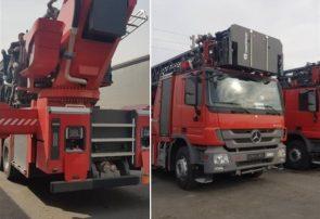 ترخیص ۲۲ دستگاه کامیون آتشنشانی سنگین همزمان با نزدیکشدن به چهارشنبه آخر سال