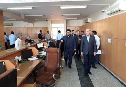 بازدید مدیرعامل بانک کشاورزی از شعبه مرزی قصرشیرین و شعبه دالاهو در استان کرمانشاه