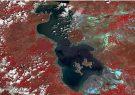 مساحت آبی دریاچه ارومیه در خردادماه افزایش یافت