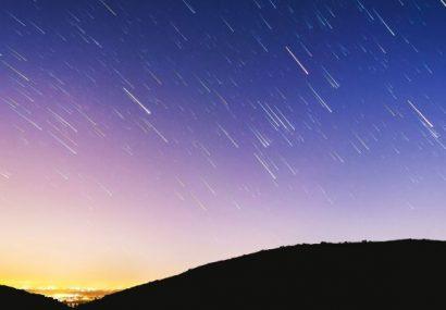 اوج بارش شهابی در آسمان امشب