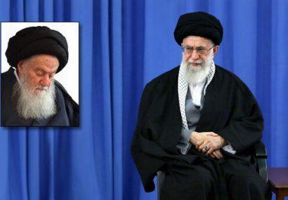 رهبر انقلاب رحلت آیتالله حسینی شاهرودی را تسلیت گفتند