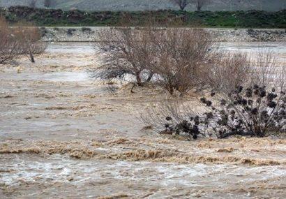 هشدار سیلابیشدن رودخانهها و ایجاد روانآب