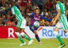 بارسلونا ۵-۲ بتیس: غرش آبی و اناری های جوان