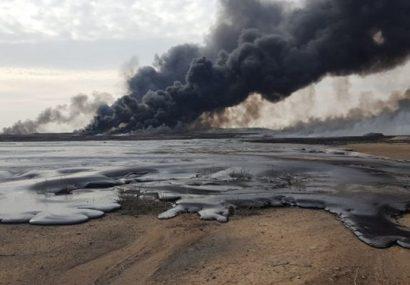 نفت سعودی همچنان میسوزد!