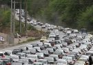 ترافیک سنگین در محور چالوس/ ترافیک نیمه سنگین در شهریار – تهران