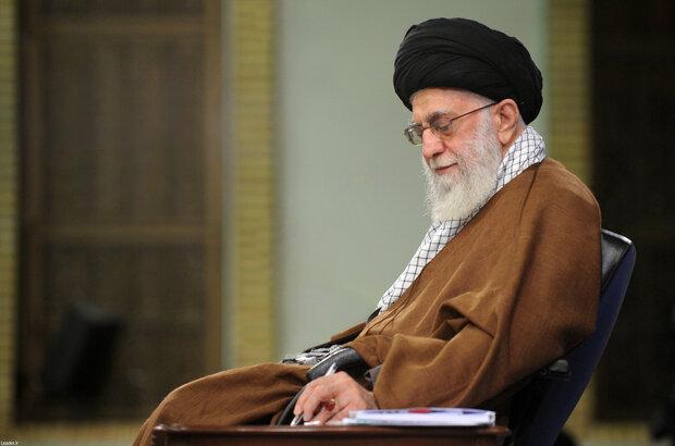 رهبر انقلاب درگذشت خواهر دبیر مجمع تشخیص مصلحت نظام را تسلیت گفتند