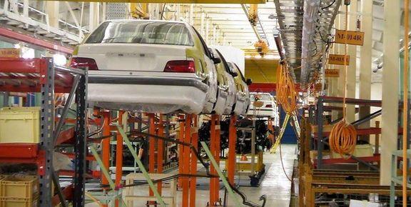 کاهش ۳۸درصدی تولید خودرو تا پایان تیر