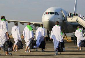 رفع مشکل پروازهای حج در فرودگاه مدینه/۱۰۳۸۶ حاجی با ۴۳ پرواز برگشتند