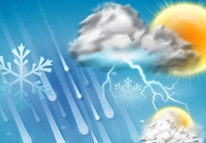 کاهش تا ۱۵ درجهای دما در استانهای شمالی و بارش باران