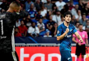 اولین گل فصل لیگ قهرمانان اروپا با پای سردار