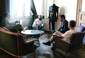 مست عشق با بازی شهاب حسینی در ترکیه کلید خورد