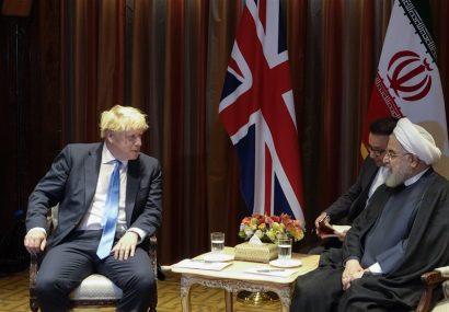 """انتقاد روحانی از بیانیه سه کشور اروپایی در دیدار با """"بوریس جانسون"""""""