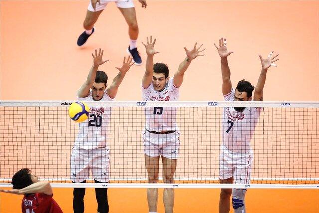 والیبال ایران به ایتالیا باخت