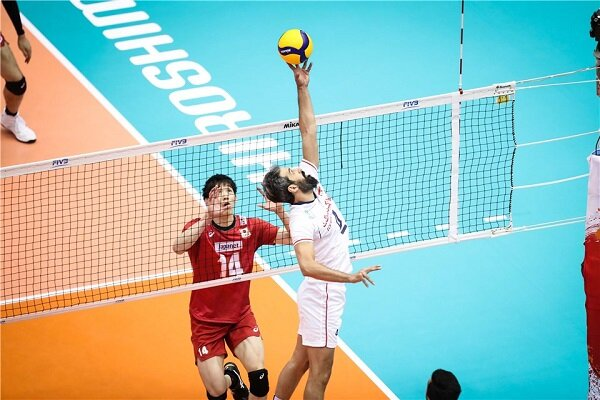 در والیبال ایران ژاپن چه میگذرد؟