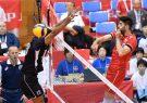 شکست تیم والیبال ایران مقابل مصر