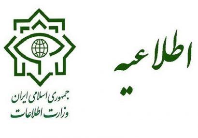وزارت اطلاعات: عوامل مرتبط با اینترنشنال در داخل شناسایی و دستگیر شدند