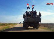 استقرار ارتش سوریه در القامشلی