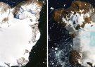 ذوب یخ ها در قطب جنوب