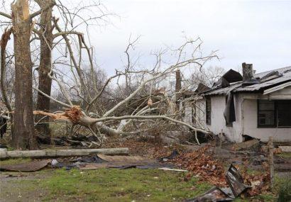 طوفان در آمریکا ۲۵ کشته بر جای گذاشت