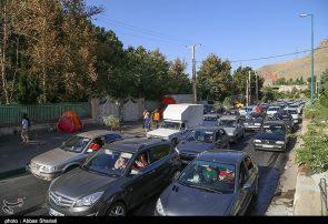 ترافیک سنگین در جاده چالوس و هراز / افزایش ۷.۶ درصدی تردد در جادههای کشور