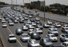 ترافیک آزاد راه تهران-کرج از پل فردیس تا گرمدره