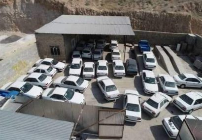 کشف ۵ هزار خودروی بدون پلاک