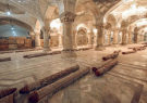 صحن حضرت زهرا(س) مفروش میشود