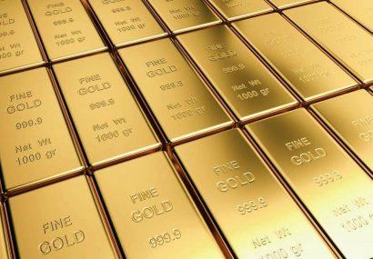 بهای طلا امروز سه شنبه در بازارهای جهانی