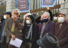 تئاتریها مقابل مجلس تجمع کردند