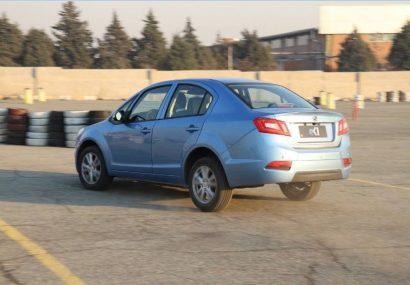 رونمایی از نخستین خودروی تمام برقی ایران