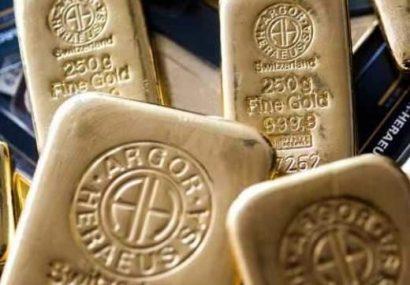 تغییرات ثبت شده در قیمت طلا