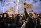 ادامه اعتراضات لندنیها علیه پلیس پس از قتل یک زن جوان