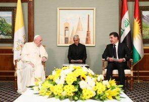 پاپ: اقلیم کردستان خانه مسیحیان شده است