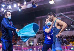 قهرمانی زودهنگام تیم ملی کشتی آزاد ایران در آسیا