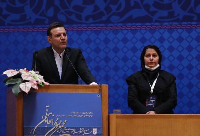 وقتی نایب رئیس زنان فوتبال ایران قوانین فیفا را زیر سوال میبرد!
